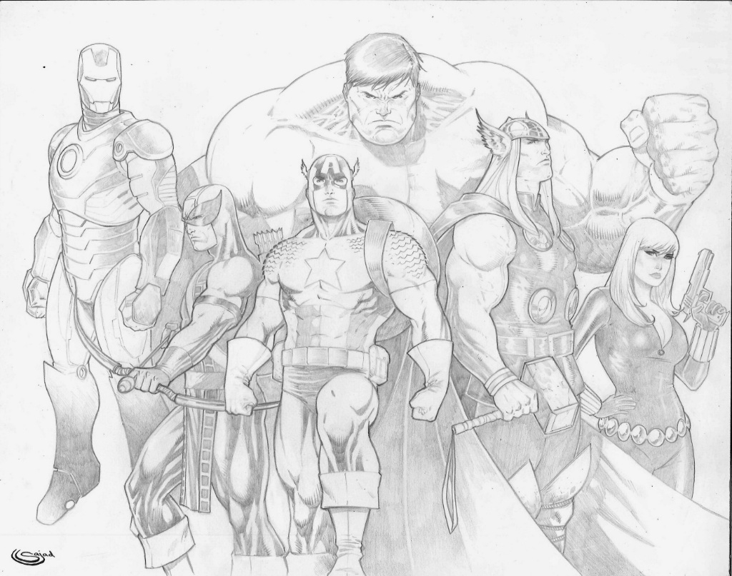avengers by Sajad126