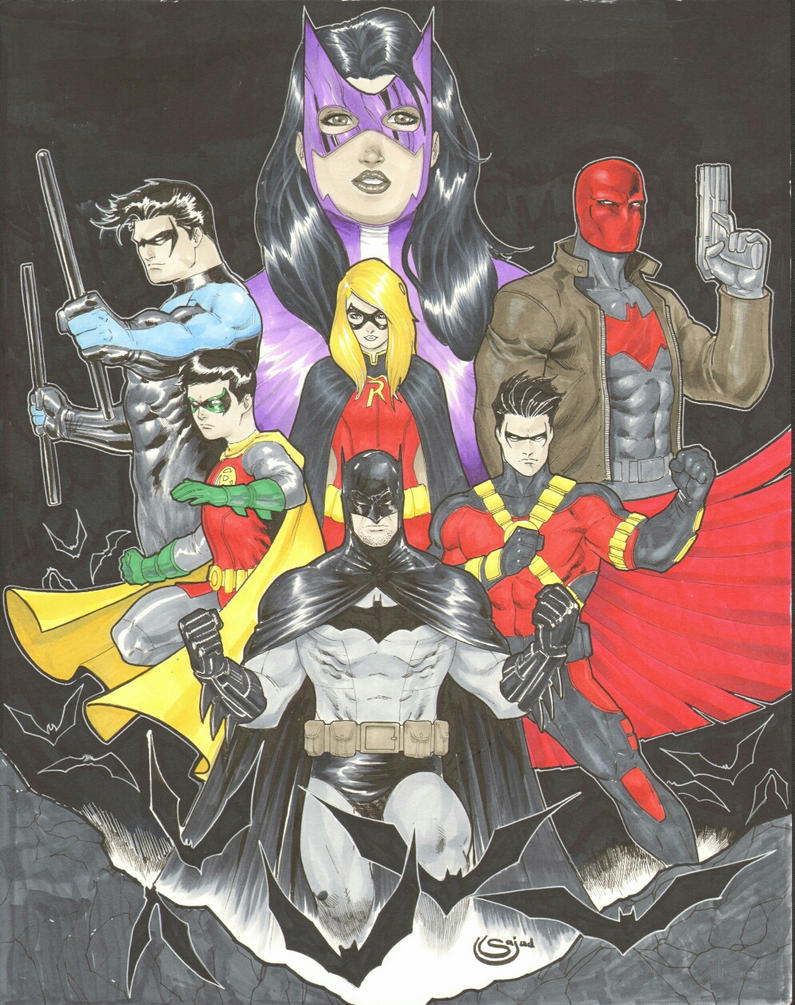 Batman Family by Sajad126