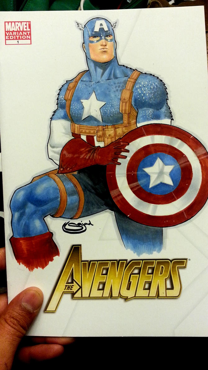 captain americ avengers blank by Sajad126