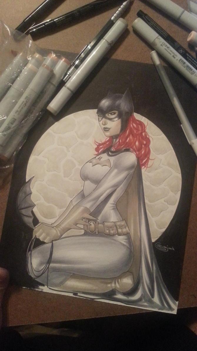 batgirl commission copics by Sajad126