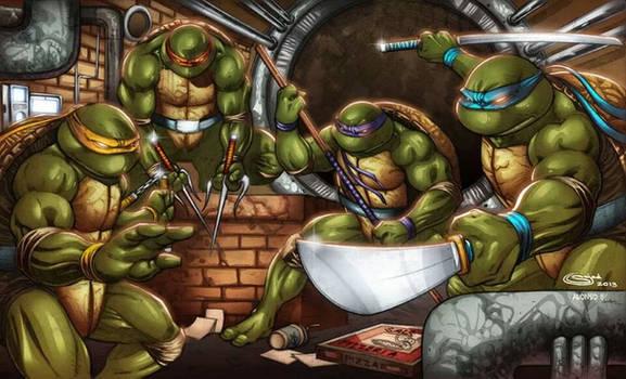 new Teenage Mutant Ninja Turtles print for shows