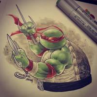 teenage mutant ninja turtles with copicd