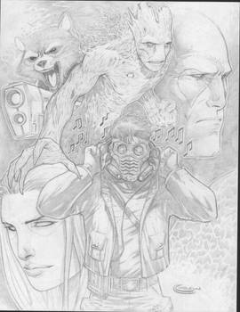 guardians of the galaxy by Sajad126