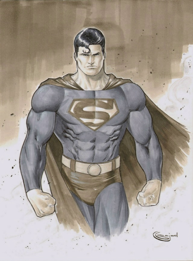 Superman for NYCC by Sajad126