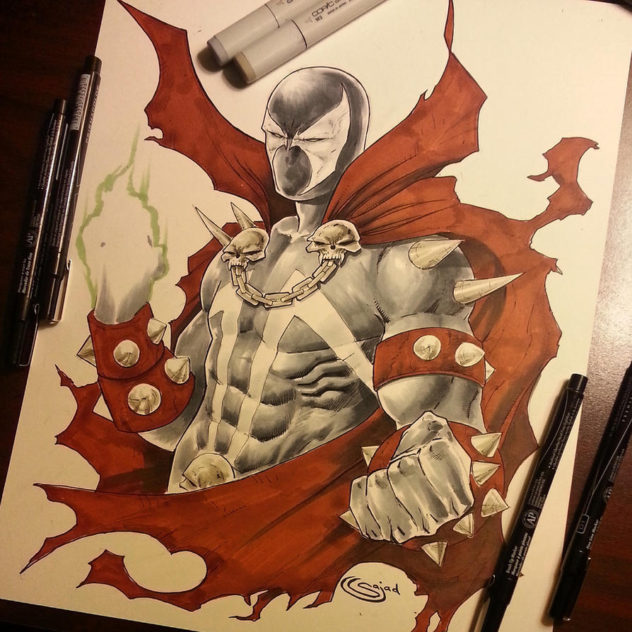 Spawn commission by Sajad126