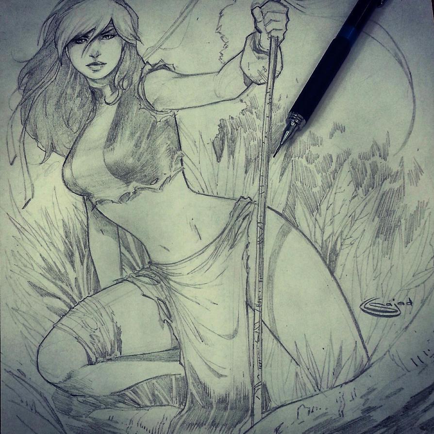 Free Rogue sketch giveaway  by Sajad126