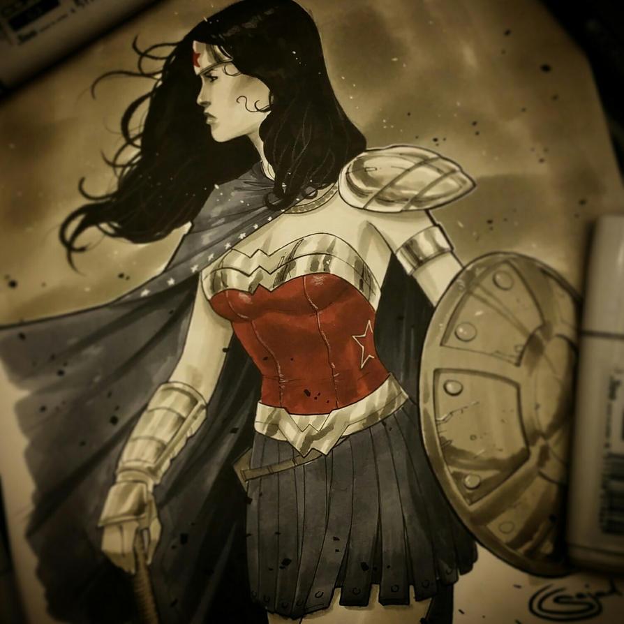 wonderwoman copics for c2e2 by Sajad126