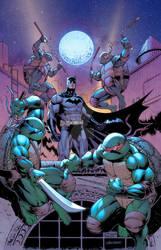 Batman TMNT crossover Variant