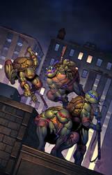 TMNT Urban Legends #1 Variant Cover