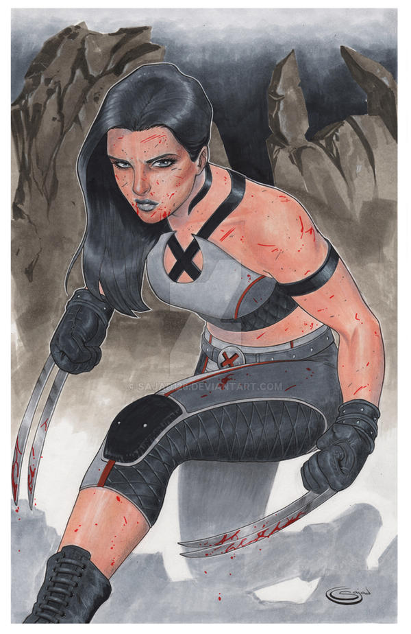 X23 Comission by Sajad126