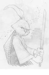 usagi Yojimbo Pencils  by Sajad126