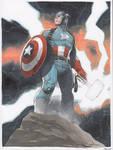 SDCC commission Captain America Endgame