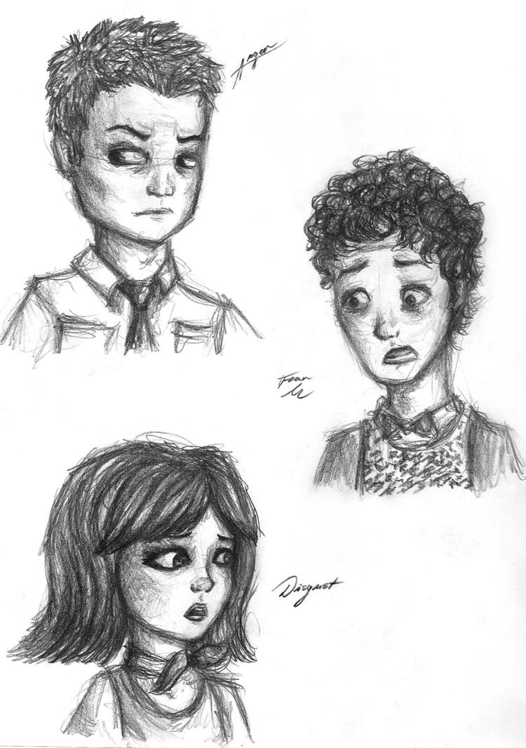 A Study in Emotions (Page 2) by Arnethiel