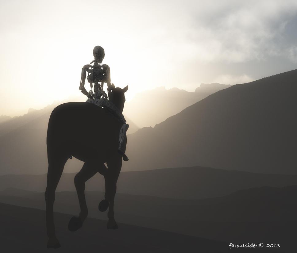 Cybequestrian patrol by faroutsider