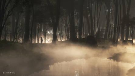 Morning mist by faroutsider