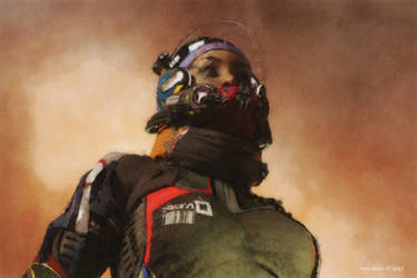 Cosmonaut by faroutsider