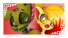 Candy x Springtrap Stamp .:request:. by Amanddica