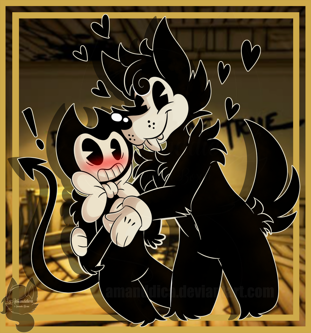 bendy and the ink machine bendy and boris