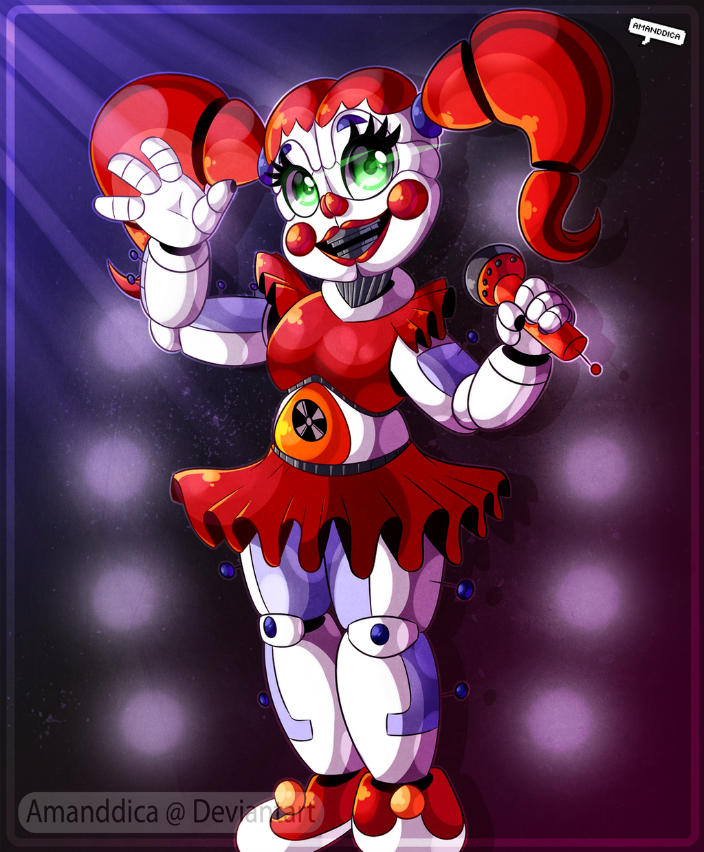 FNAF - Welcome to the Circus by Amanddica