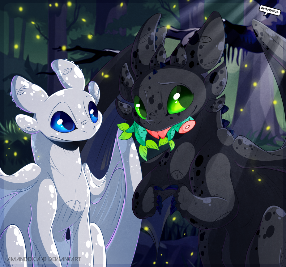HTTYD - Shy Toothless by Amanddica