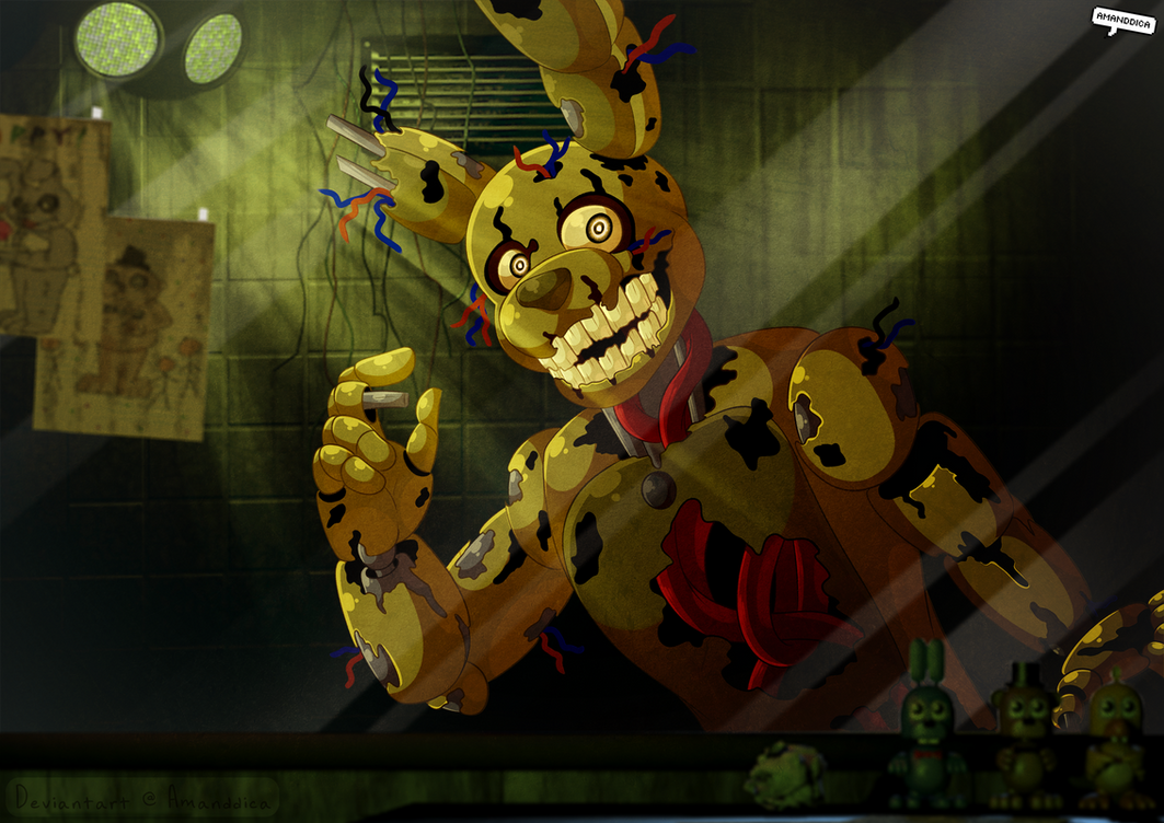 FNAF - That was easier than I thought it would be by Amanddica