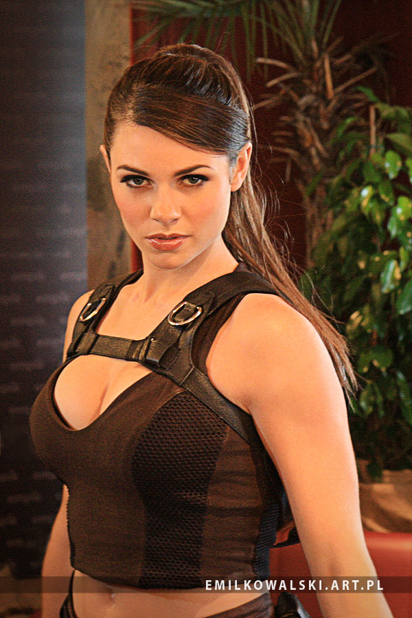Alison Carroll as Lara Croft from Tomb Raider II by KowalskiEmil