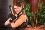Alison Carroll as Lara Croft from Tomb Raider III by KowalskiEmil