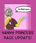 Nanny Princess page UPDATE