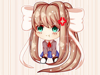 Chibi Monika by RyuseDraws