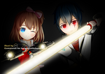 Commission - Sever and Yukkana