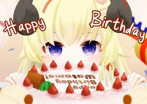 Happy Birthday Watame!