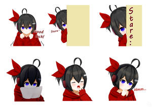 MAID-chan - Emotes