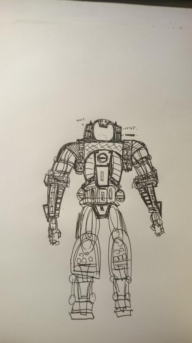 random sketch 01 by levitan71