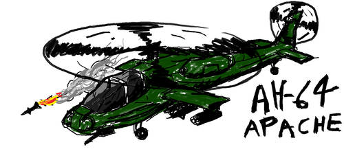 AH-64 by Sharklover74