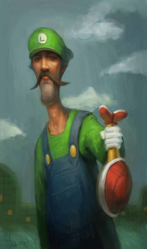 Luigi by Alex-Chow