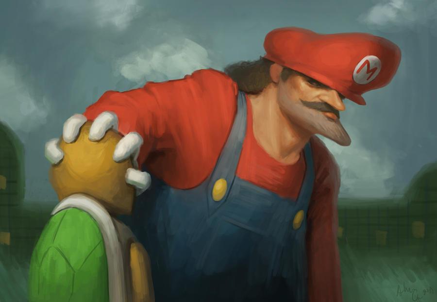 Mario by Alex-Chow