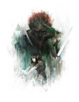 The Legend of Zelda by Alex-Chow