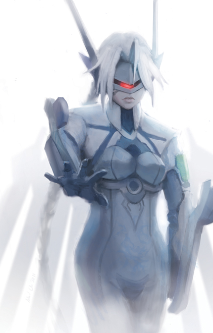 V 13 Blazblue Blazblue V-13 by Alex-Chow