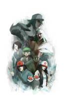 Pokemon Generation V by Alex-Chow
