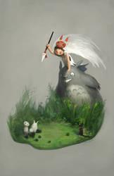 Miyazaki Tribute by Alex-Chow