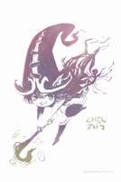 Lulu, the Fae Sorceress (June 6th, 2013) by Alex-Chow