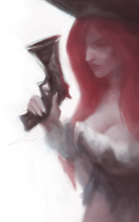 Miss Fortune (League of Legends) by Alex-Chow