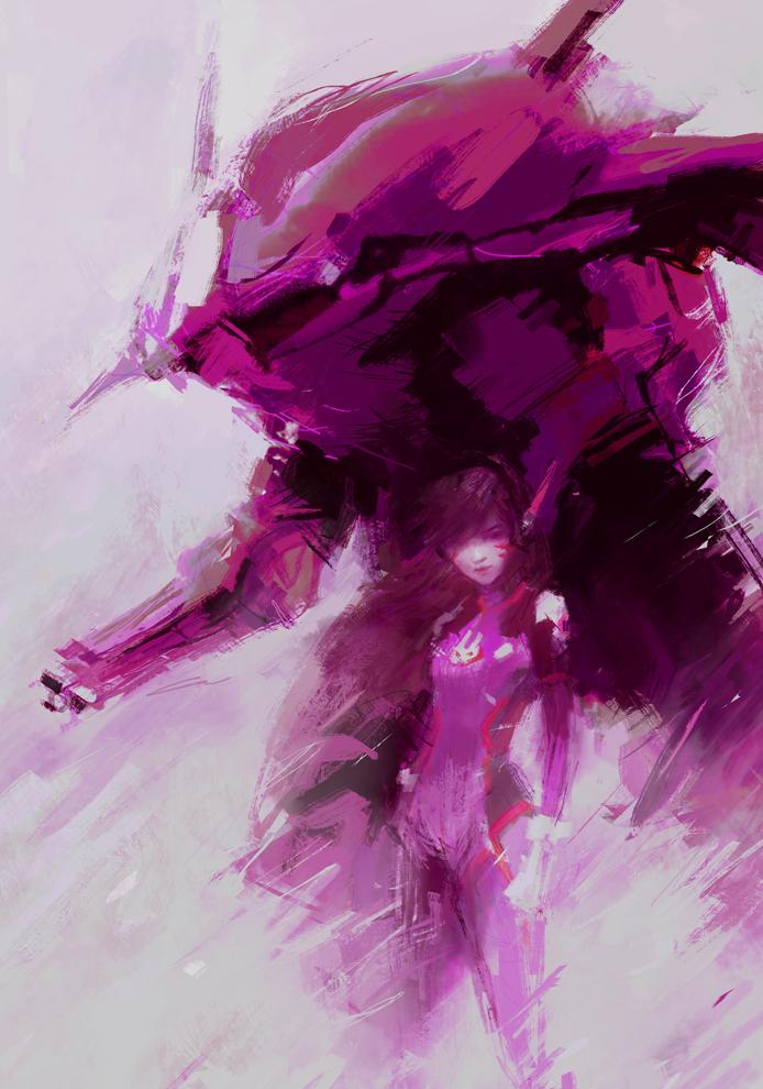 D.Va Gear (Overwatch) by Alex-Chow