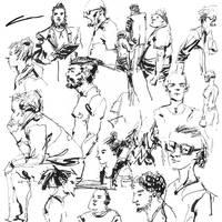 Inktober Sketches (ORIGINAL) by Alex-Chow
