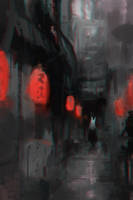Street (Original) by Alex-Chow