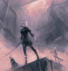 The Silence (NieR: Automata) by Alex-Chow