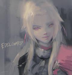 Edelgard Sketch (Fire Emblem: Three Houses) by Alex-Chow