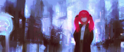 Kurumi (COMMISSION) by Alex-Chow