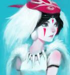 San Portrait (Princess Mononoke)