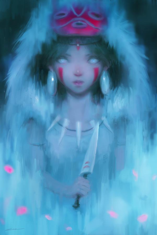 Wolves of the Night (Princess Mononoke)